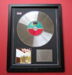 LED ZEPPELIN - Led Zeppelin II CD / PLATINUM PRESENTATION DISC